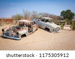 abandoned vintage car wrecks at ... | Shutterstock . vector #1175305912