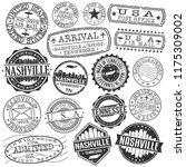 nashville tennessee stamp... | Shutterstock .eps vector #1175309002