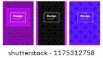 light pink  blue vector pattern ...   Shutterstock .eps vector #1175312758