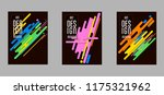 covers templates set with... | Shutterstock .eps vector #1175321962