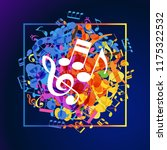concept music. music background ... | Shutterstock .eps vector #1175322532