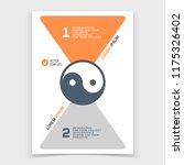 brochure or web banner design... | Shutterstock .eps vector #1175326402