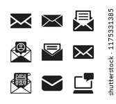 send icon. 9 send vector icons...   Shutterstock .eps vector #1175331385