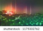 global network. blockchain.... | Shutterstock . vector #1175332762