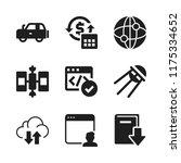 wireless icon. 9 wireless...   Shutterstock .eps vector #1175334652