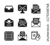 send icon. 9 send vector icons...   Shutterstock .eps vector #1175338768