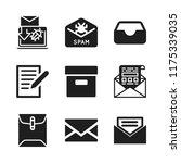 send icon. 9 send vector icons...   Shutterstock .eps vector #1175339035