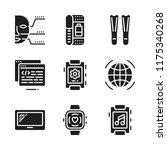 tech icon. 9 tech vector icons...   Shutterstock .eps vector #1175340268