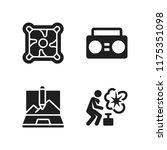 portable icon. 4 portable...   Shutterstock .eps vector #1175351098