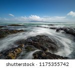 table mountain waves | Shutterstock . vector #1175355742