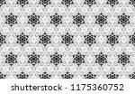 black and white seamless... | Shutterstock . vector #1175360752