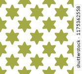 star of david seamless vector... | Shutterstock .eps vector #1175362558