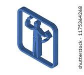 juggler isometric left top view ... | Shutterstock .eps vector #1175364268