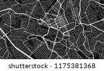design black white map city... | Shutterstock .eps vector #1175381368