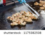image of a person cooking some... | Shutterstock . vector #1175382538