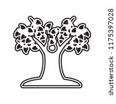 tree with many leaves icon... | Shutterstock .eps vector #1175397028