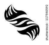 tribal tattoo art | Shutterstock .eps vector #117540592