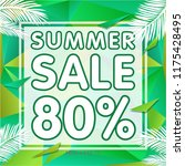 summer sale banner discount   Shutterstock .eps vector #1175428495