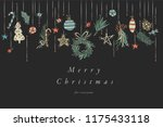 vector hand draw design for... | Shutterstock .eps vector #1175433118
