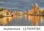 amsterdam  the netherlands  ... | Shutterstock . vector #1175459785
