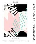 printable a4 size september... | Shutterstock .eps vector #1175484475