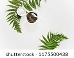 spa background with dead sea... | Shutterstock . vector #1175500438