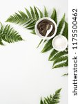 spa background with dead sea... | Shutterstock . vector #1175500462