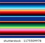 blanket stripes vector pattern. ... | Shutterstock .eps vector #1175509978
