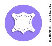 sewing pattern icon in badge...
