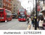 london  uk  november 24 2017...   Shutterstock . vector #1175522095