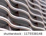architecture exterior facade... | Shutterstock . vector #1175538148
