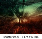 abstract shining shiny lights... | Shutterstock . vector #1175542708