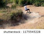 mountainboard rider during... | Shutterstock . vector #1175545228