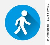 vector icon of a walking... | Shutterstock .eps vector #1175549482