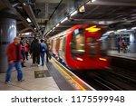 london  uk   may 13 2018 ... | Shutterstock . vector #1175599948