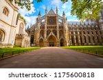 westminster abbey   collegiate... | Shutterstock . vector #1175600818
