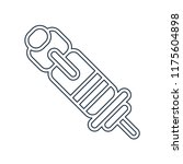 spark plug icon vector isolated ...   Shutterstock .eps vector #1175604898