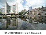 Stock photo city hall of toronto 117561136