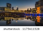 early morning dawn reflections... | Shutterstock . vector #1175611528