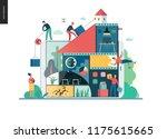 company  teamwork ... | Shutterstock .eps vector #1175615665