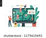 where to buy   modern flat... | Shutterstock .eps vector #1175615692