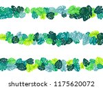 aquamarine tropical jungle... | Shutterstock .eps vector #1175620072