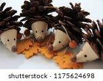 Cute Pine Cone Hedgehog