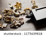 many expensive decorative ring  ...   Shutterstock . vector #1175639818