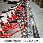 Parking Of Bicycles For Hire