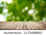 old wood plank with abstract...   Shutterstock . vector #1175688802