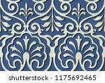 seamless relief sculpture...   Shutterstock .eps vector #1175692465