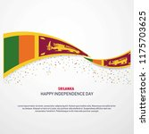 sri lanka happy independence... | Shutterstock .eps vector #1175703625