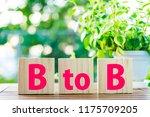 business and btob   Shutterstock . vector #1175709205