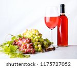 grape  cheese  figs and honey... | Shutterstock . vector #1175727052
